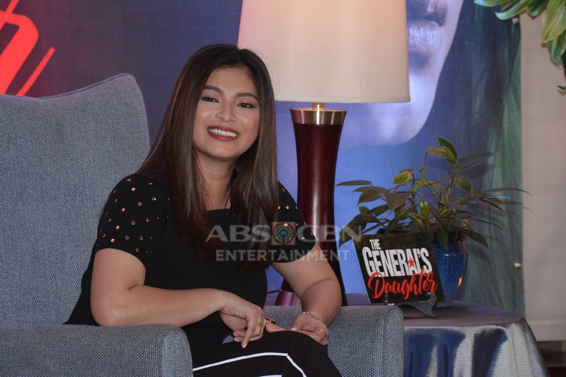 PRESSCON PHOTOS: Angel Locsin is The General's Daughter