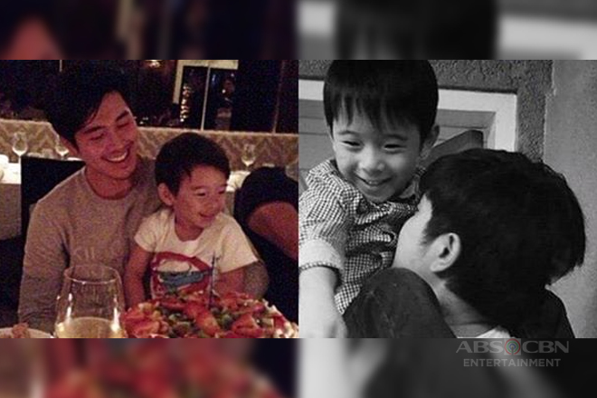 LOOK: Rare photos of Paulo Avelino with his chinito unico hijo!