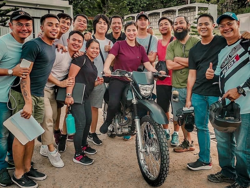 PHOTOS: Sa likod ng maaaksiyong eksena ni Angel Locsin sa The General's Daughter