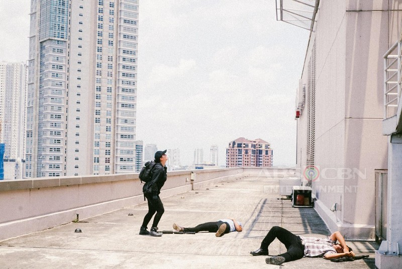 Behind-The-Scenes: Angel Locsin's death-defying scene on #TGDHulihan
