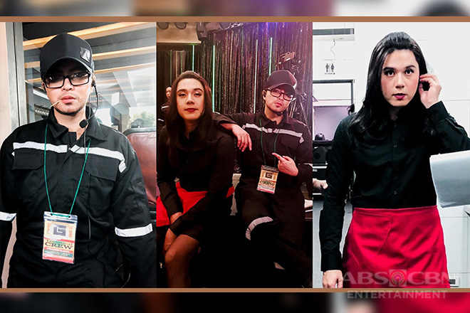 "LOOK: Angel and Paulo switch gender roles on ""The General's Daughter"""