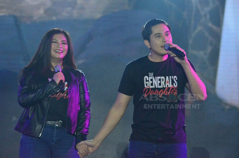 IN PHOTOS: The stars of The General's Daughter at the #ForeverKapamilya Trade Event