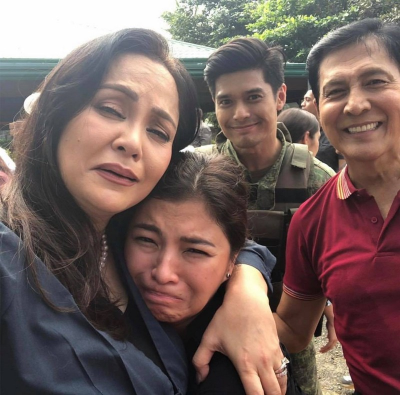 "No goodbyes! Here's what happened at the last taping day of ""The General's Daughter"""
