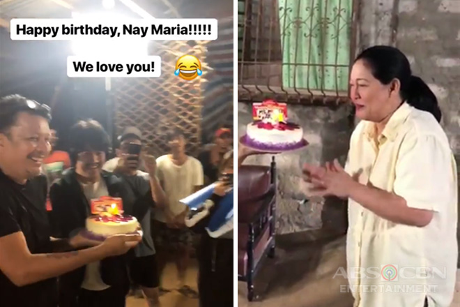 Maricel Soriano gets birthday surprise from her The General's Daughter family