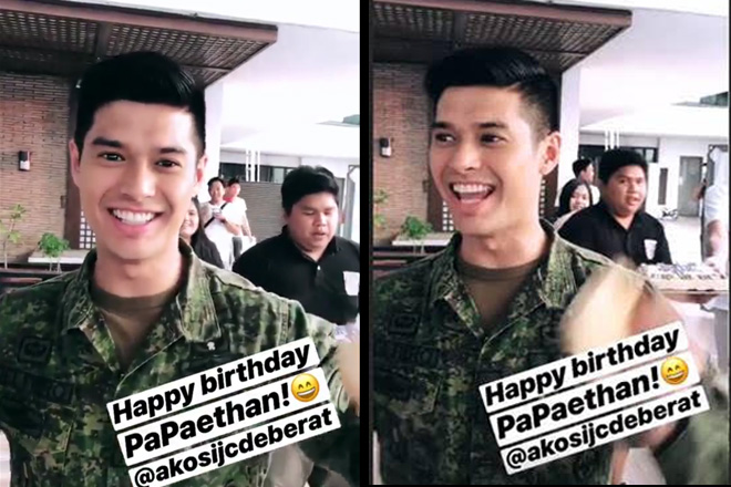 JC de Vera receives birthday surprise from his The General's Daughter Family