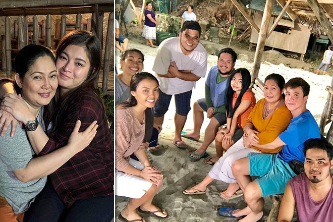 Rhian's feel good moments with her barrio friends in The General's Daughter