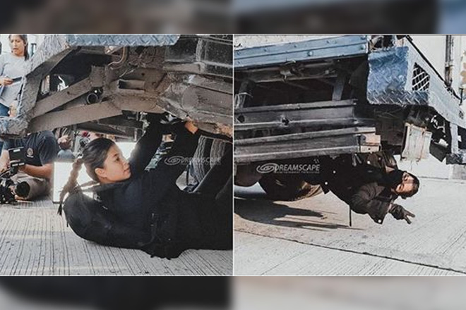 WATCH: Angel Locsin wows viewers with her latest action stunt